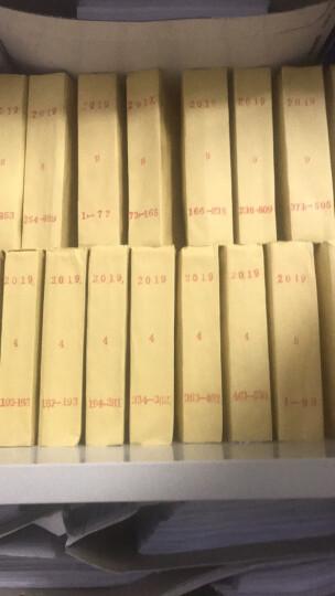 得力(deli)3847 财务装订机专用透明装订铆管Φ4.8mm*500mm 100支/盒装 晒单图