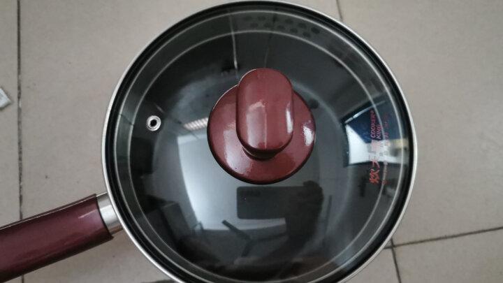 炊大皇奶锅不粘锅小汤锅16cm泡面锅煮奶锅婴儿辅食锅热奶锅电磁炉明火通用WG14290 晒单图