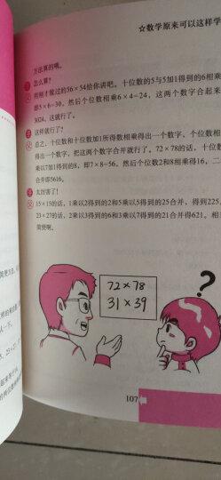 数学普及读物:数学原来可以这样学+数学真好玩(套装共2册) 晒单图