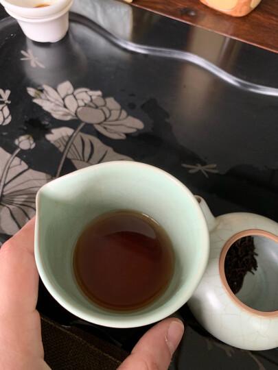 【2020秋茶】武夷红茶茶叶浓香型桐木关高山蜜香桐木人家金骏眉罐装125g 晒单图