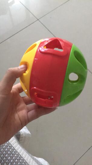 澳贝(AUBY) 益智学爬玩具 响铃滚滚球 运动爬行婴幼儿童早教启智 463304DS 晒单图