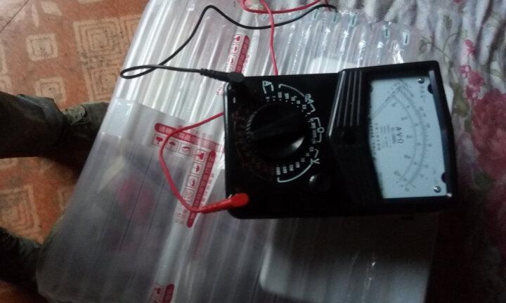 上海四表厂MF14 指针万用表 星牌 高精度指针万用表 MF14+15V,2号1.5V电池各一节 晒单图