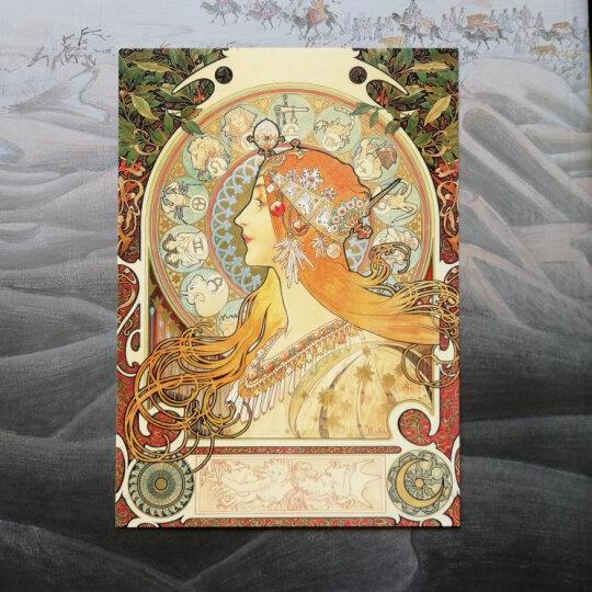 出类艺术:塞纳河畔(明信片) 晒单图