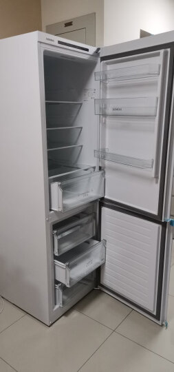 西门子(SIEMENS) 321升 风冷双门冰箱 全无霜 双效过滤 超大冷藏(白色) BCD-321W(KG32NV21EC) 晒单图