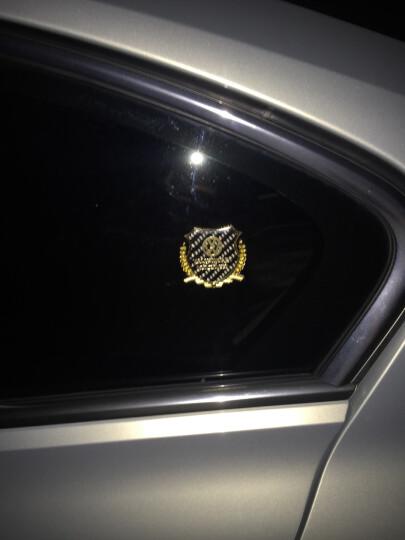 stwin汽车车贴 碳纤维纹路金属车标贴 汽车改装用品 装饰件 3D立体车窗贴 侧个性高配 阿尔法罗密欧 金色贴标1对装 晒单图