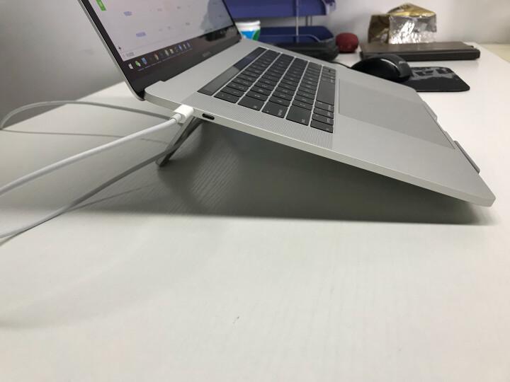 绿巨能(llano)笔记本支架 升降桌多档调节 便携折叠电脑支架 置物架 护颈椎笔记本电脑配件显示器 M2散热架 晒单图