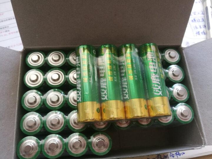 双鹿 9V电池6LR61碱性层叠方形电池1粒装 仪器仪表万用表麦克风对讲机报警器电池 晒单图
