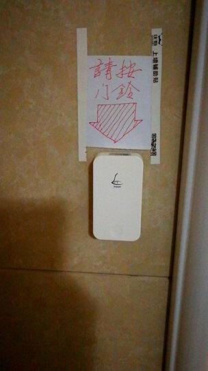 领普门铃 无线家用自发电不用电池远距离别墅智能叮咚门铃呼叫器 G4 一拖四门铃套装 晒单图