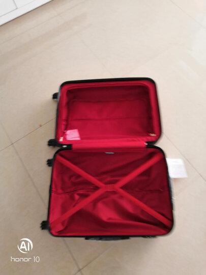 瑞士军刀威戈(Wenger)拉杆箱 男女商务休闲ABS24英寸万向轮行李箱旅行箱 黑色 SAX631115109068 晒单图