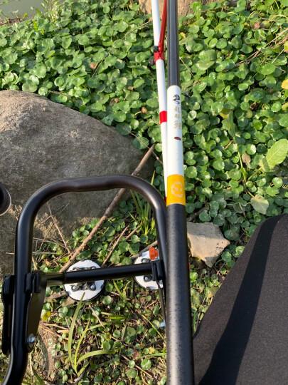 熊火(Bear fire)鱼竿龙勝鲤钓鱼竿 4.8米手竿钓鱼杆台钓竿鱼竿碳素28调鲤鱼竿 晒单图