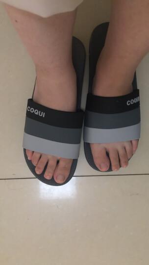 酷趣coqui 四季家居浴室拖鞋 居家简约沙滩洗澡凉拖鞋女款 玫红38(适合38码)CQ5492 晒单图