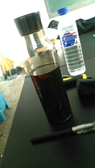 乐扣乐扣 (locklock)夏季运动水壶塑料水杯杯子便携式学生杯HLC644VOL紫色550ML 晒单图