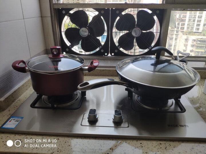 炊大皇 汤锅 不粘锅22cm炖汤煲汤煮奶锅 电磁炉燃气煤气灶明火通用WG14320 晒单图