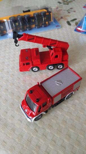 siku 汽车儿童玩具车模型车模 货车卡车带挖掘机 合金小汽车玩具男孩-平板拖车带挖掘机1611 晒单图