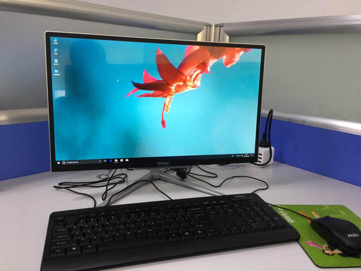 海尔(Haier)Aphro S8C-B973M 23.8英寸 一体机台式电脑(I3-7100U 8G 1TB GT940M 2G独显 WIFI 正版Win10) 晒单图