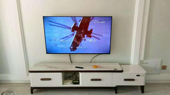 NB F500(50-60英寸)双臂气弹簧旋转伸缩电视架电视挂架电视机架电视支架夏普海信TCL康佳三星50/55/60黑 晒单图