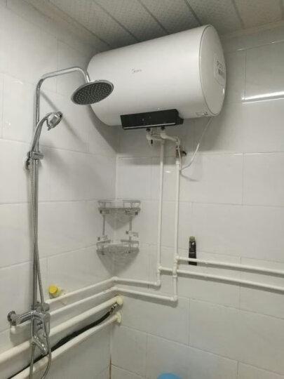 美的(Midea)2100W速热电热水器50升 无线遥控 预约洗浴 一键保温 加长防电墙F50-15WB5(Y) 晒单图