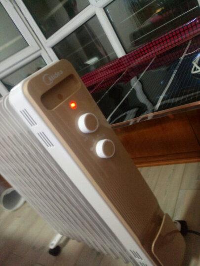 美的(Midea)取暖器油汀电暖器家用13片油丁电暖气电热暖风机电油汀取暖器片NY2213-18GW 晒单图