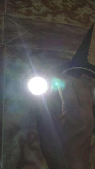 智博立ZBL多功能强光手电筒LED远射锂电池防水带蓝牙音响充电宝收音机功能露营灯创意礼物户外便携装备 蓝色经典 晒单图