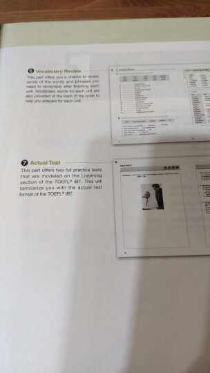 新东方·新托福考试专项进阶:中级听力(附光盘) 晒单图