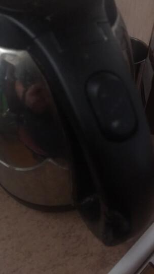 苏泊尔(SUPOR)电水壶高硼硅玻璃电热水壶 1.7L烧水壶 SW-17E29A 304不锈钢 晒单图