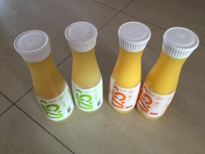 农夫山泉NFC果汁 17.5°100%鲜榨苹果汁 950ml/瓶 晒单图