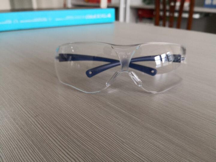 3M 护目镜防风防尘防沙透明手术防护眼镜防雾防刮擦户外骑行 外科手术防护 晒单图