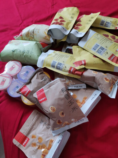 【199减120】良品铺子  蛋花玉米 爆米花68g×2袋 休闲零食 蛋花玉米 晒单图