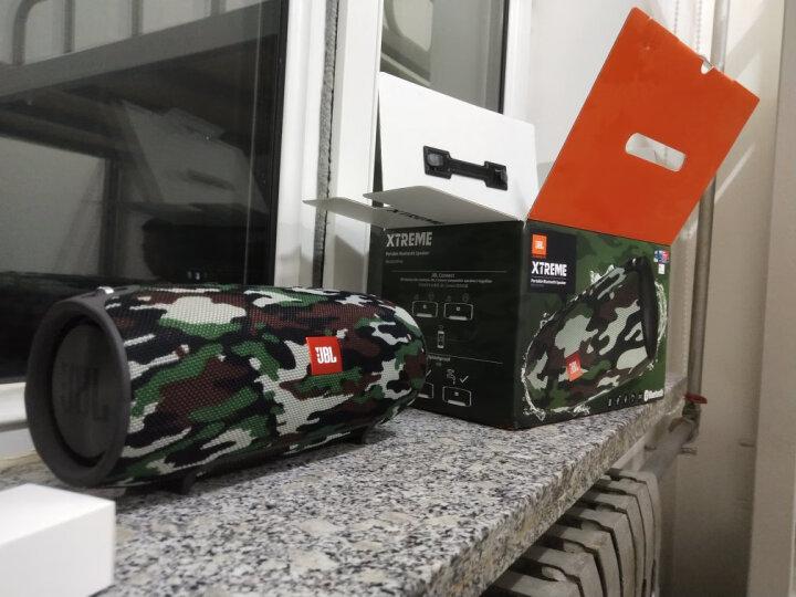 JBL XTREME 音乐战鼓 便携式蓝牙音箱+低音炮 户外音箱 电脑音响 防水设计 桌面音箱 可免提通话 迷彩定制版 晒单图