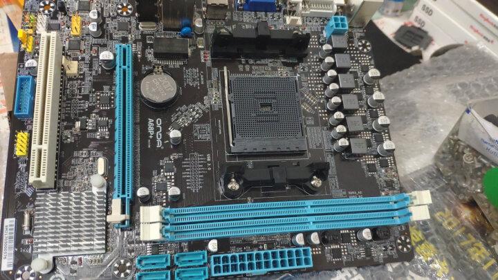 昂达(onda)A68P+全固版 (AMD A68H Socket FM2+) 主板 晒单图