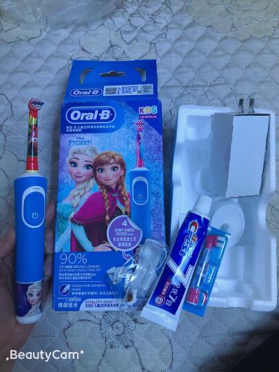 欧乐B 儿童电动牙刷头 4支装 适用D10,D12儿童电动牙刷(星球大战图案 款式随机)EB10-4K 德国进口 官方正品 晒单图
