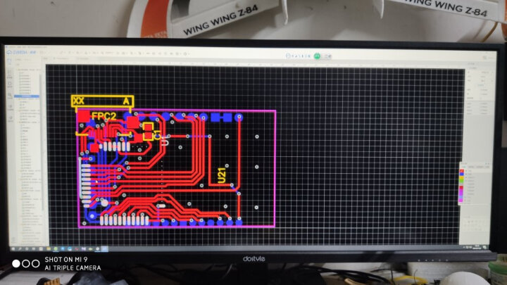 dostyle京选27英寸2K分辨率高清(原装ADS-IPS面板 防眩光滤蓝光不闪屏)显示器DM270QD 晒单图