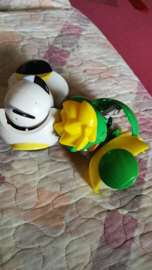 开心超人玩具联盟正义机车侠谜之城超星技能球开心宝贝超人儿童合体变形玩具机器人 二代-超星技能球-5只装 晒单图