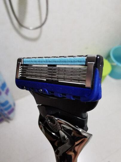吉列(Gillette) 手动剃须刀刮胡刀刀片 吉利 5层超薄刀片 锋隐致顺(6刀头)(此商品不含刀架) 晒单图