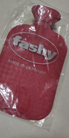 费许(FASHY)德国原装进口PVC材质斜格纹热水袋2.0L红色fashy6420 晒单图