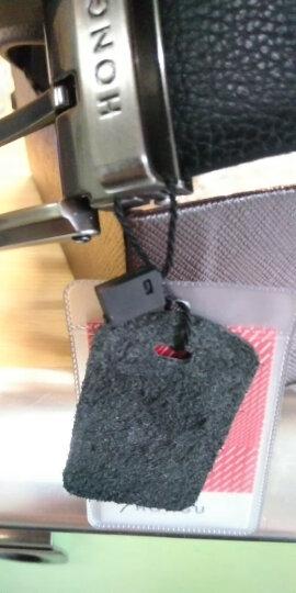红谷HONGU男士皮带休闲牛皮针扣可裁剪男士腰带礼盒装 H23204373深咖啡亮光头 晒单图