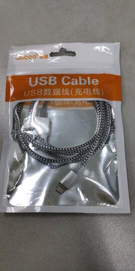 酷波苹果XS Max/XR/8/7/6/5s数据线充电线USB电源线Lighting手机连接线支持iphone5/6s/7Plus/SE/ipad等 银色 晒单图