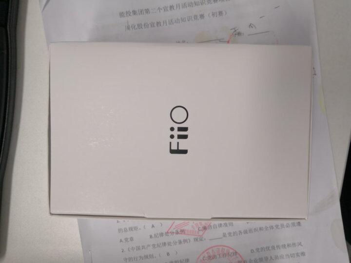 飞傲(FiiO) Q1 MarK II DSD硬解 苹果平衡解码耳放HIFI便携 黑色 晒单图