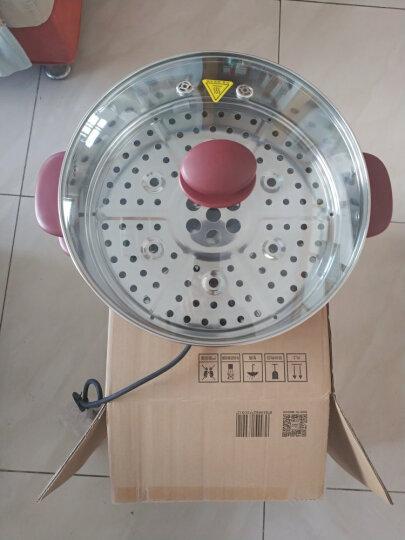 美的(Midea)电蒸锅电煮锅电火锅多用途锅多功能家用电热锅不锈钢 三层 大容量WSYH26A 晒单图