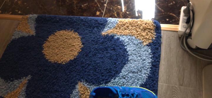 绿松 定制地垫门垫进门入户地垫门垫  门口脚垫家用卧室玄关客厅门厅防滑垫吸水垫子地垫 咖啡鹅卵石 80*120cm【精选绒面】 晒单图