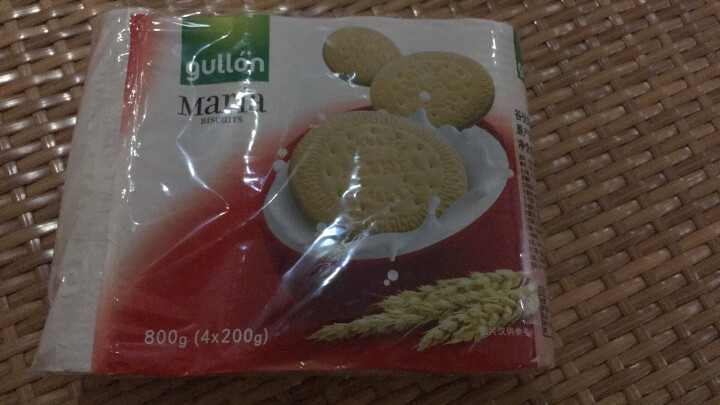 西班牙进口 谷优(Gullon) 全麦玛丽亚饼干 木糠杯原料饼干  800g 晒单图