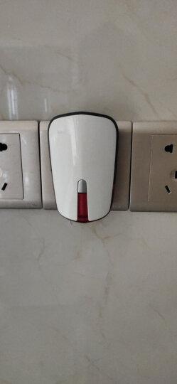 海得曼(advent)F86-681PR-GLD 不用电池门铃无线猫眼家用呼叫器 86大按键 土豪金 一拖一 晒单图