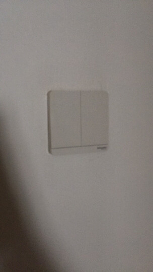 施耐德电气(Schneider Electric)开关插座 开关面板 双开双控开关16A 绎尚系列 镜瓷白色E8332L2_WE 晒单图