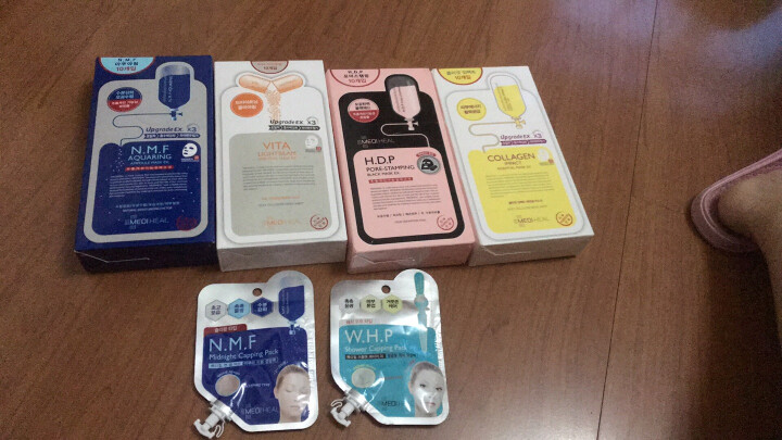 美迪惠尔(Mediheal)水润保湿睡眠面膜膏15ml水库针剂(免洗 男女护肤适用)可莱丝 韩国进口 晒单图