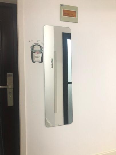 伯仑 无框穿衣镜 壁挂 全身 镜子 挂墙 试衣镜 贴墙 (默认壁挂,如要粘贴备注)35*120cm 晒单图