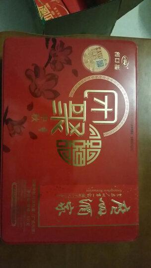 广州酒家 团聚中秋月饼礼盒铁盒装537克 双黄纯白莲蓉等6味6饼中秋节月饼 团购更优惠 晒单图