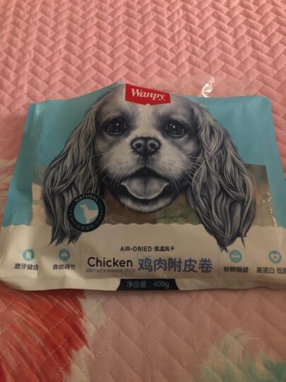 顽皮(Wanpy)狗狗零食鸡肉干400g 宠物狗狗零食磨牙棒洁齿骨 泰迪狗狗零食 软鸡肉丝400g 晒单图