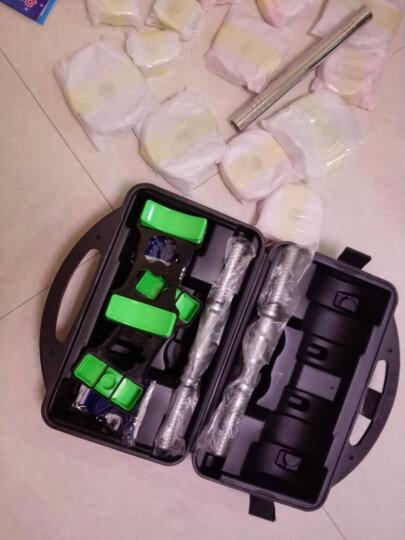 恒动力哑铃男士纯钢电镀健身家用练臂肌可拆卸组合杠铃健身器材 25KG盒装钢哑铃送对接杆 晒单图