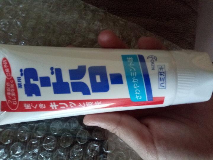 日本进口 花王(KAO)防蛀护齿牙膏薄荷味165g/支 防蛀护齿 清洁牙齿 晒单图