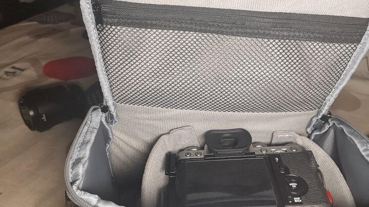 【京东joy联名款】智慧地球(smart planet)数码单反相机包防水材质单肩包P1200黑色 晒单图